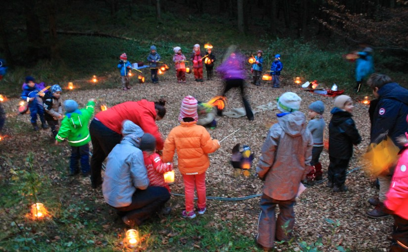 Einladung: St. Martinsfest im Waldkindergarten am 13. November