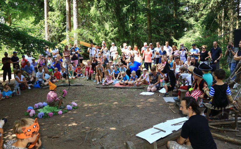 Sommerfest zum 5- jährigen Bestehen des Waldkindergartens am 20.07.2019